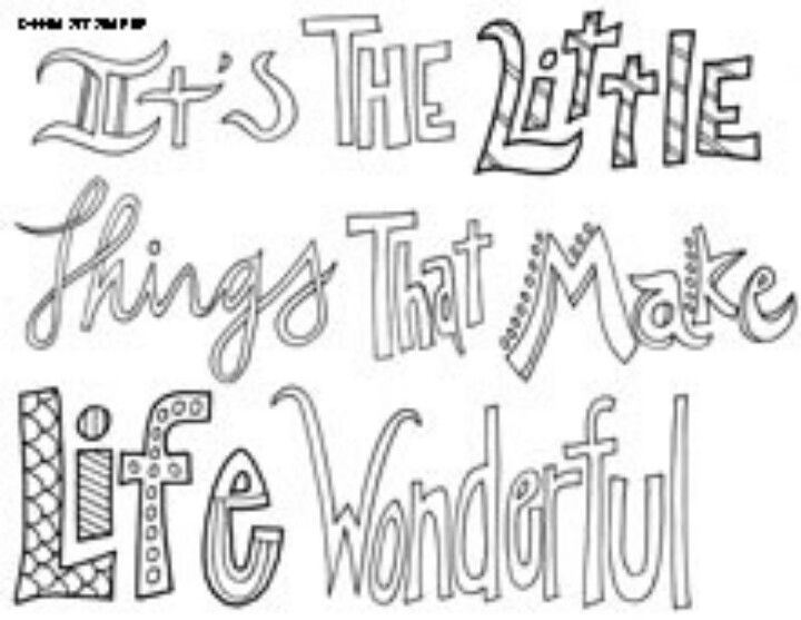 All Quotes Coloring Pages Printable. QuotesGram