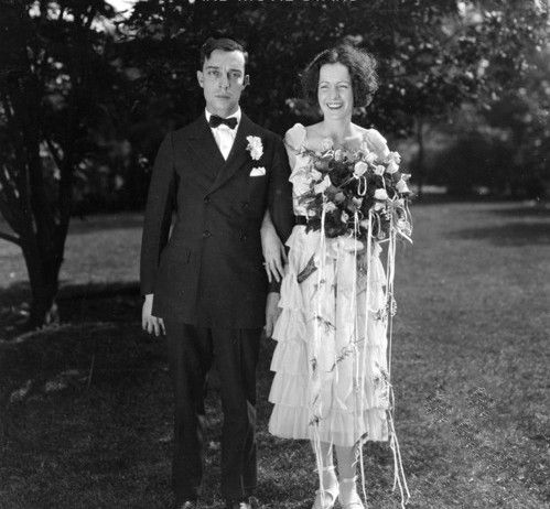 Image result for buster keaton wedding photo