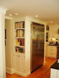 Bookshelf in kitchen | Kitchen | Pinterest