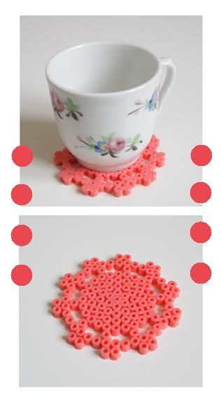 Hama Lace Coaster