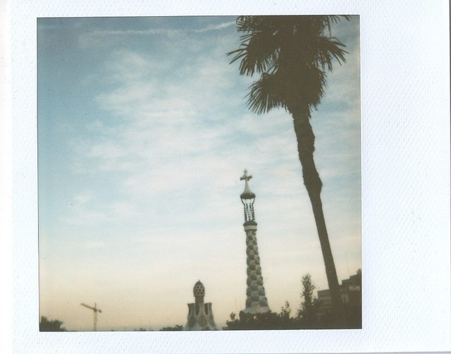 thinking about you, barcelona. expired polaroid 600 film, may 2010.