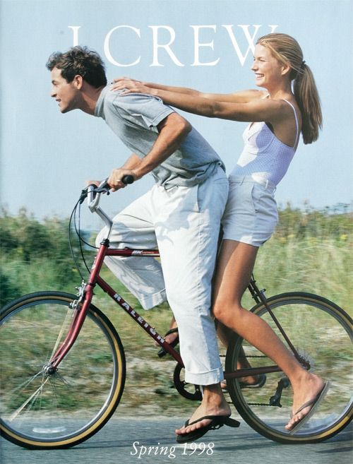 Our Spring 1998 cover #style #jcrew