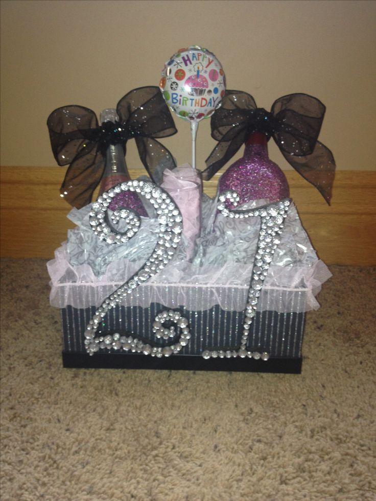 21st birthday gift for girls 21 in vegas pinterest