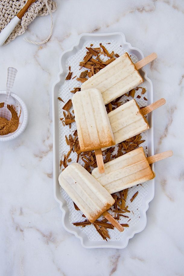 Arroz con leche Pops  {Polos de arroz con leche} www.foodandcook.net
