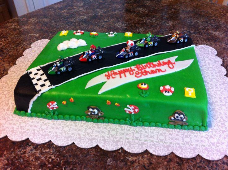 Mario Racing Car Cake Ideas And Designs