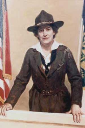 Juliette Gordon Low- Founder of the Girl Scouts after her