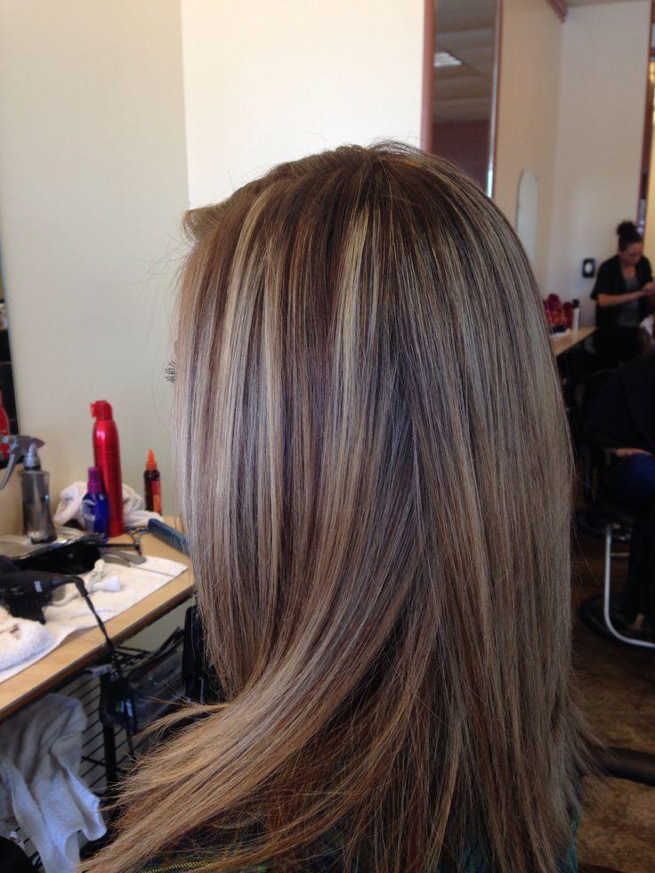 Lowlights Brown hair  Hair  Pinterest