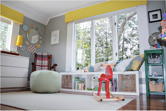 Featured Nursery: Amy's Fabric-Fabulous Space