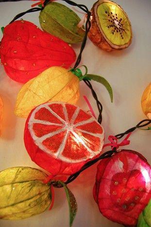 Fruit 'n' Veg Fairy Light...By:Joanna Coupland