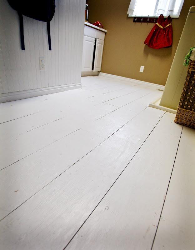 plywood floor  painted  Home Sweet Home  Pinterest