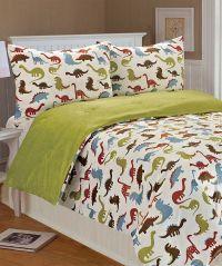 Dinosaur Bedding.