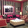 Displaying 18 gallery images for pink and black striped room