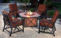Patio Furniture Sets with Gas Fire Pit | outdoors.firepits ...