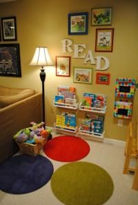 Reading corner | Kids room ideas | Pinterest