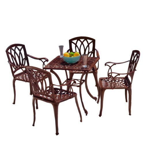 cast iron table and chairs perth swing chair mumbai 30 unique patio dining sets - pixelmari.com