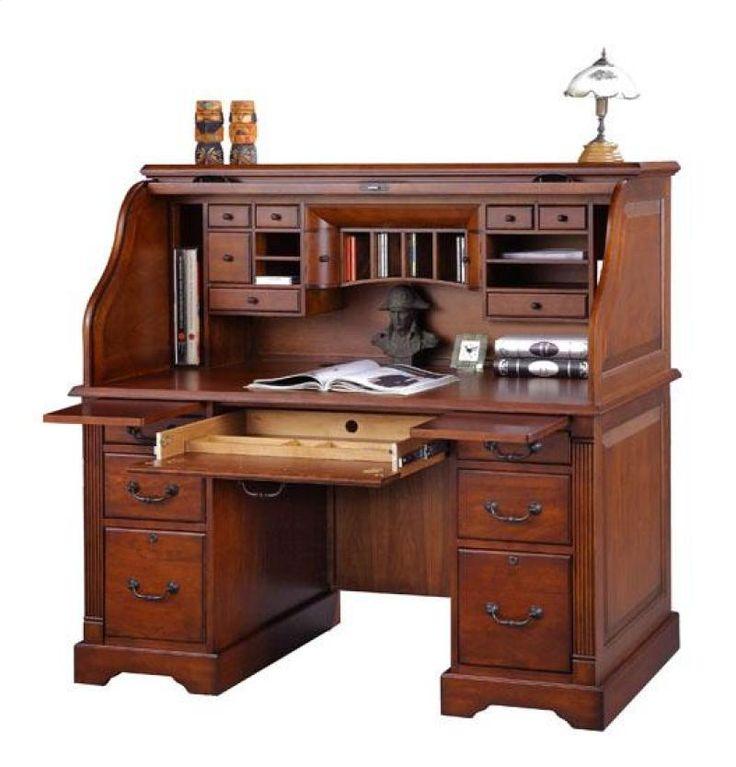 Roll top desk  Roll Top Desk Makeover  Pinterest