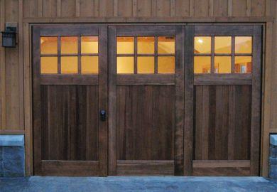 Bi Folding Doors Or Accordian Doors By Real Carriage Door