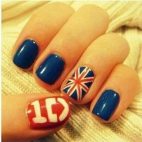 One Direction nail design | Nail Designs | Pinterest