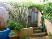Home garden designs: Tuscan style backyard landscaping ...