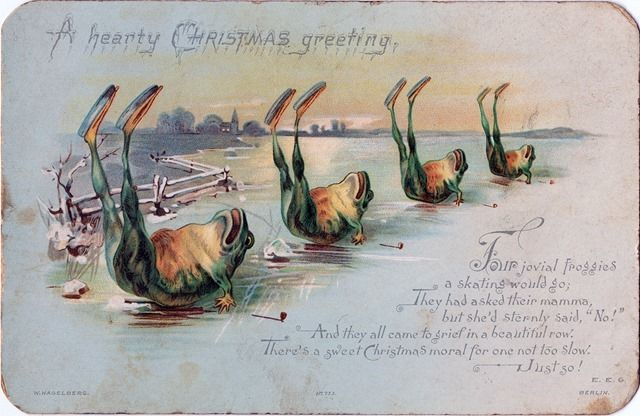 Victorian Christmas Card;  Nova Scotia Archives on The Commons (Flickr); http://www.flickr.com/photos/nsarchives/11222294503/
