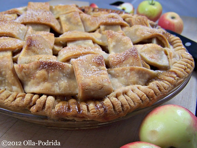 lattice apple pie with mexican brown sugar recipes mdash dishmaps