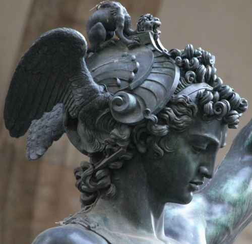 Michelangelo Sculptures In Florence Italy