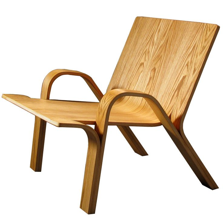 Bent plywood chair  Instructables  chair  Pinterest