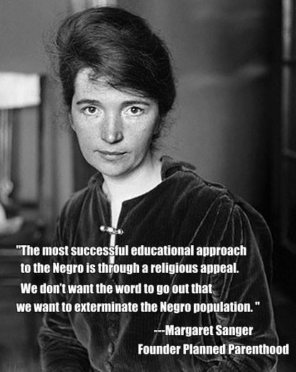 Image result for Hillary Clinton Margaret Sanger Meme