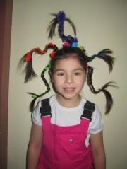 crazy hair day school