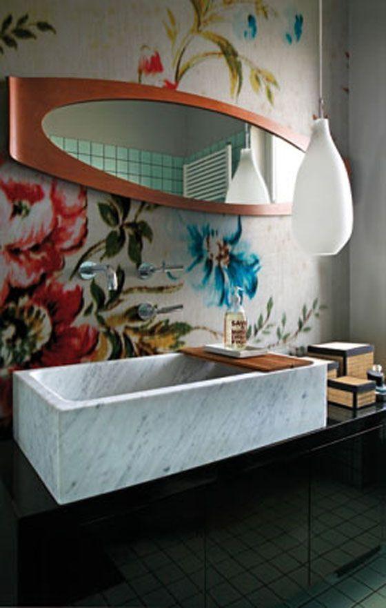 Wall & Decò / Bathroom wallpaper