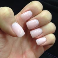 Perfect light pink gel manicure #nails | Nailed | Pinterest