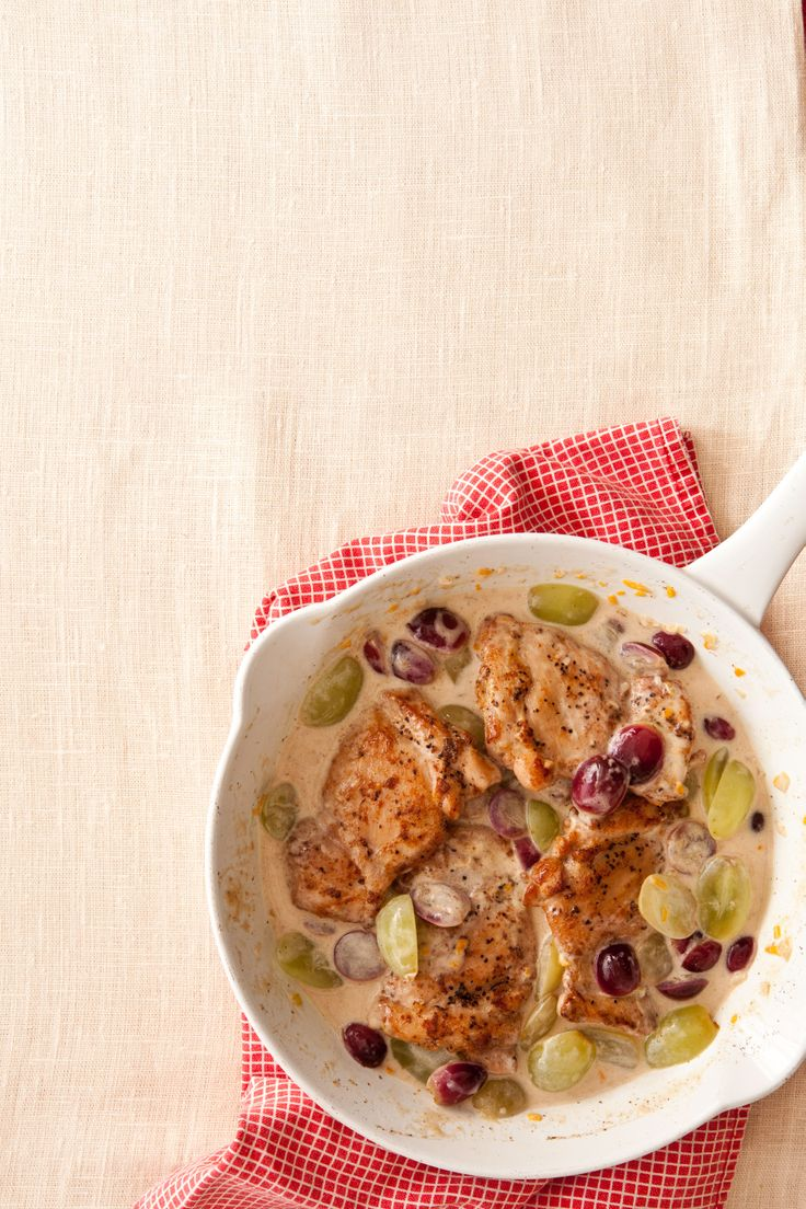 chicken recipes thighs veronique