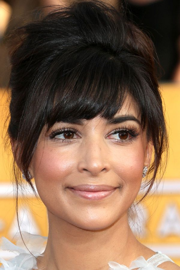 Hannah Simone at the 2014 SAG Awards: http://beautyeditor.ca/2014/01/20/sag-awards-2014/