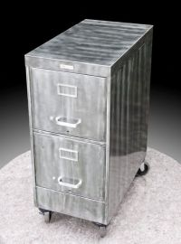 Cool file cabinet DIY. | filing cabinet station idea ...