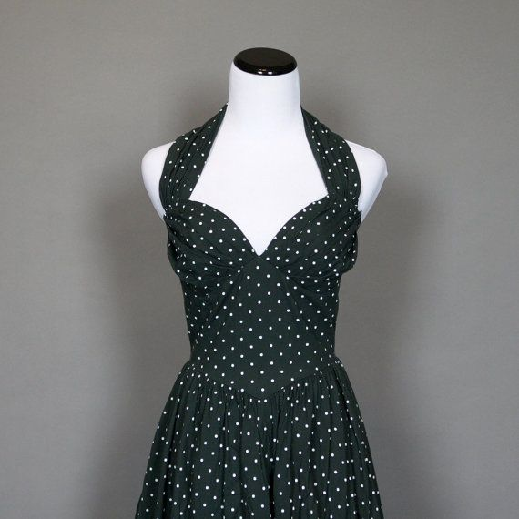 Vintage 1950s Style Summer Dress from Persnickety Vintage