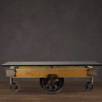 Restoration hardware coffee table