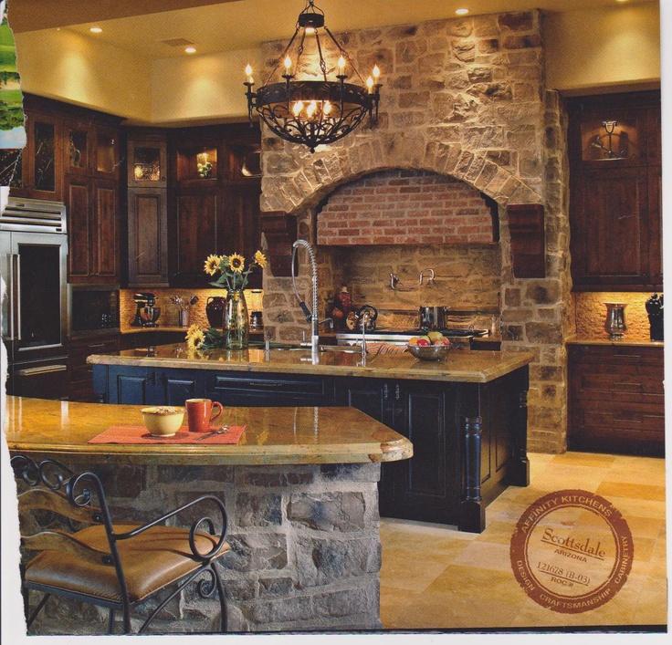 Old world kitchen design  Home  Kitchen  Dining  Pinterest