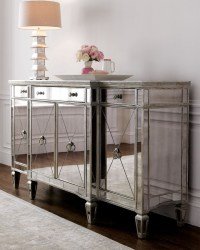 Amelie Mirrored Buffet | Home Sweet Home | Pinterest