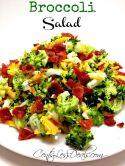 broccoli salad recipe (sub splenda for sugar)