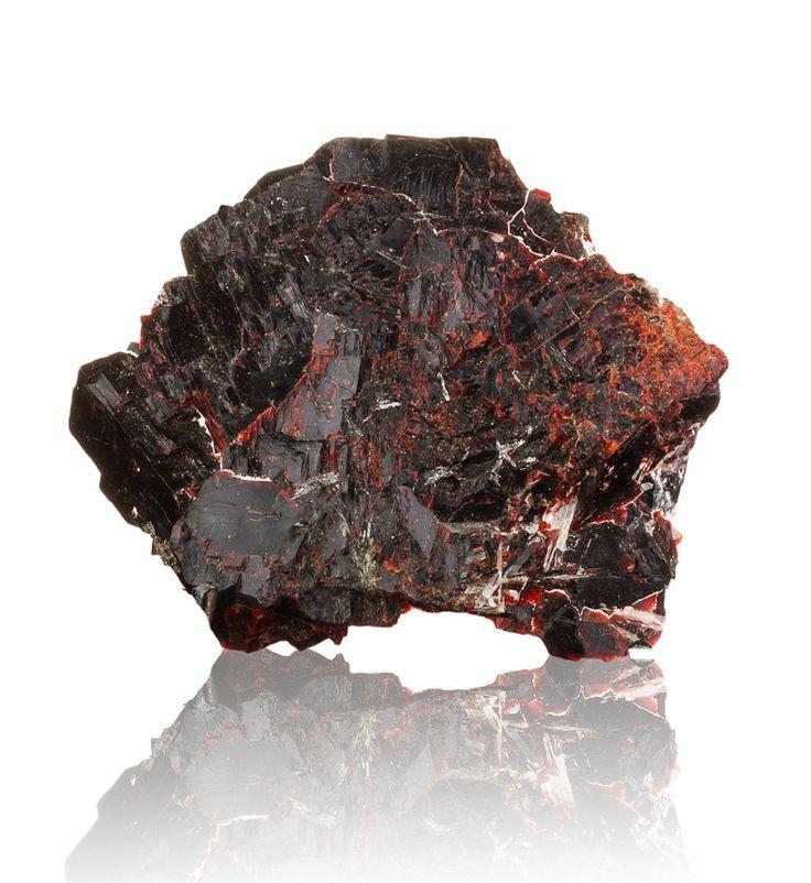 "5"" Superb DeepPurpleRed VILLIAUMITE Rare Crystals Kola Peninsula Russia"