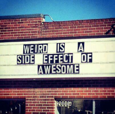 Weird quote