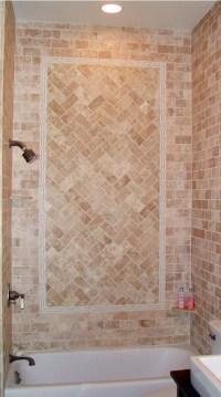 herringbone tile | Master bathroom | Pinterest