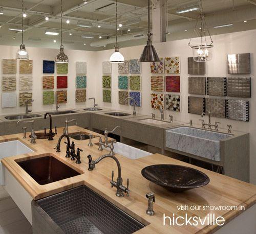 Hicksville Kitchen Showroom Ideas