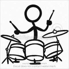 Stick Figure Drums