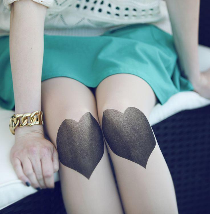 heart tights