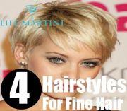 4 unique hairstyles fine hair