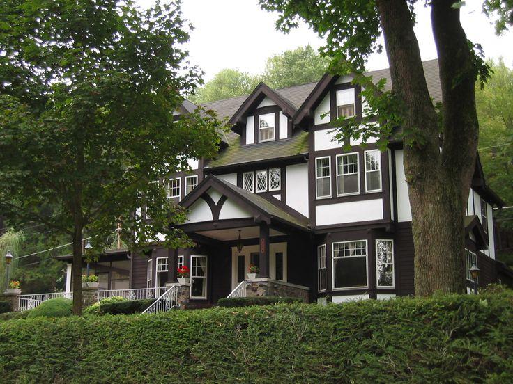 12 Delightful Tudor Revival Style  Home Plans  Blueprints