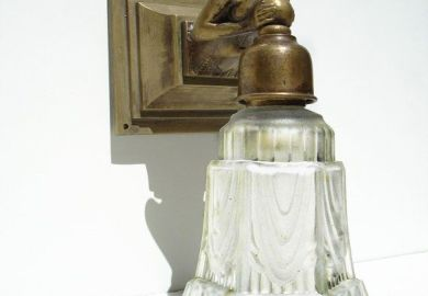 Brass Wall Sconce Etsy