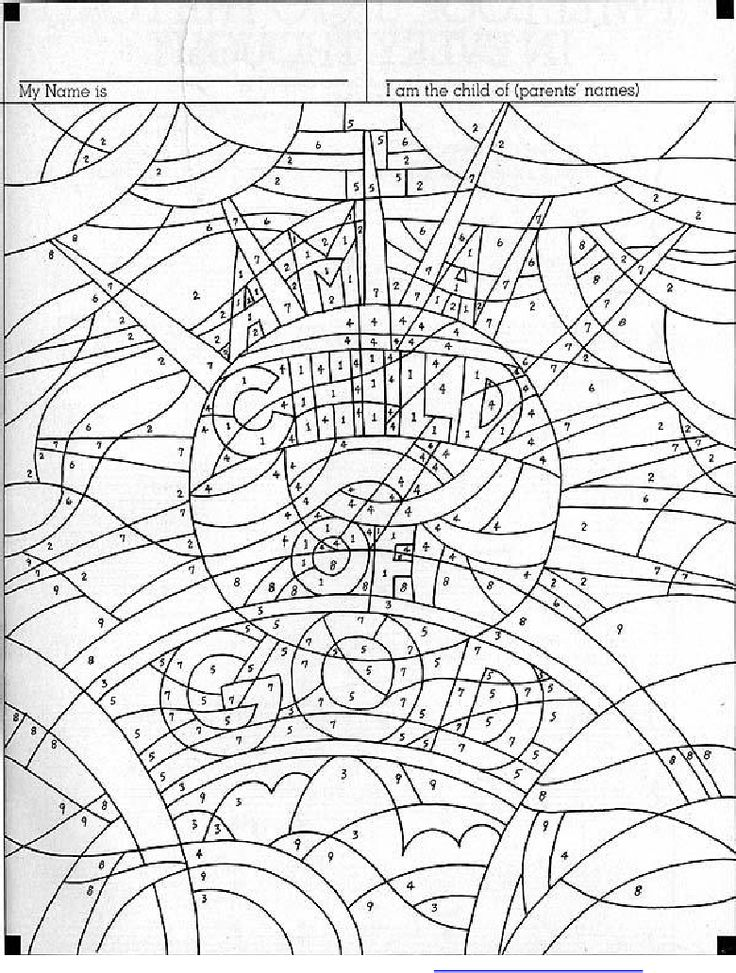 Magnet Coloring Pages
