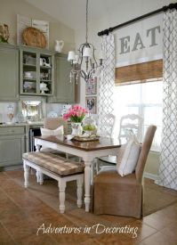 Little Decorating Ideas ~ eat in kitchen | For the Home ...